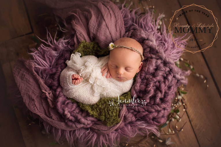 Kentucky Premier Newborn Photographer, baby, infant, posed, studio, Image of the Year