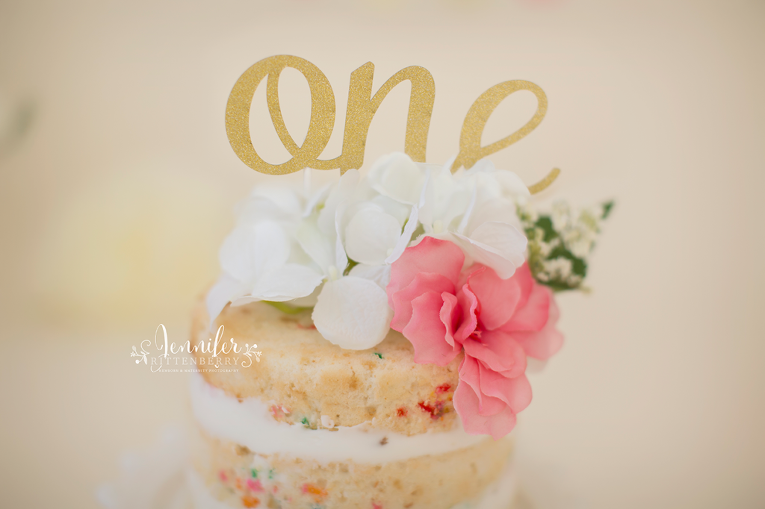 cake smash, naked cake, mount washington KY, first birthday, milestone photography, one year